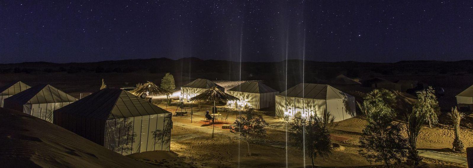Azawad Luxury Desert Camp Merzouga!