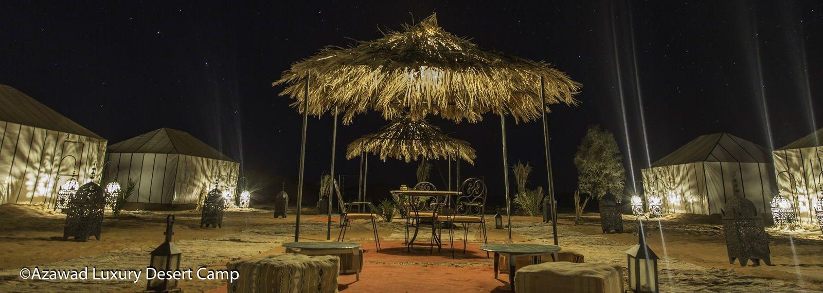 Luxury bivouac Azawad Desert Camp Merzouga