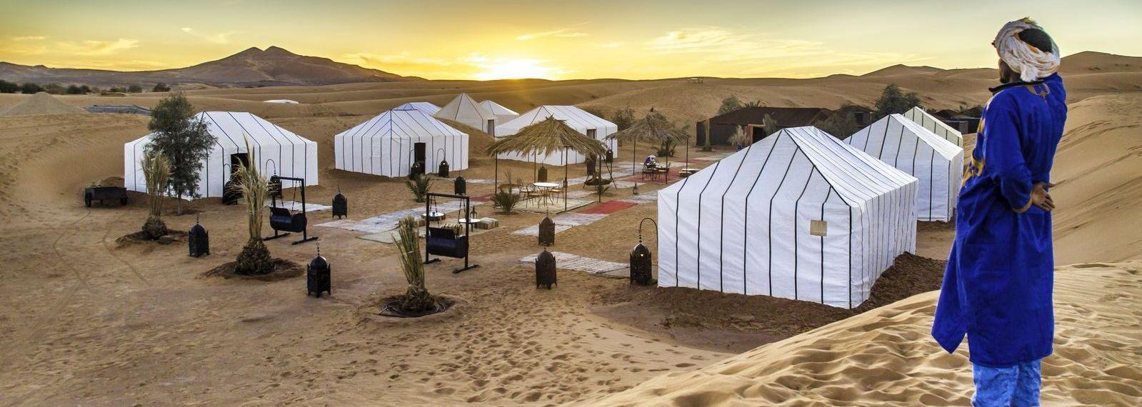 Overnight stay in Luxury desert camp